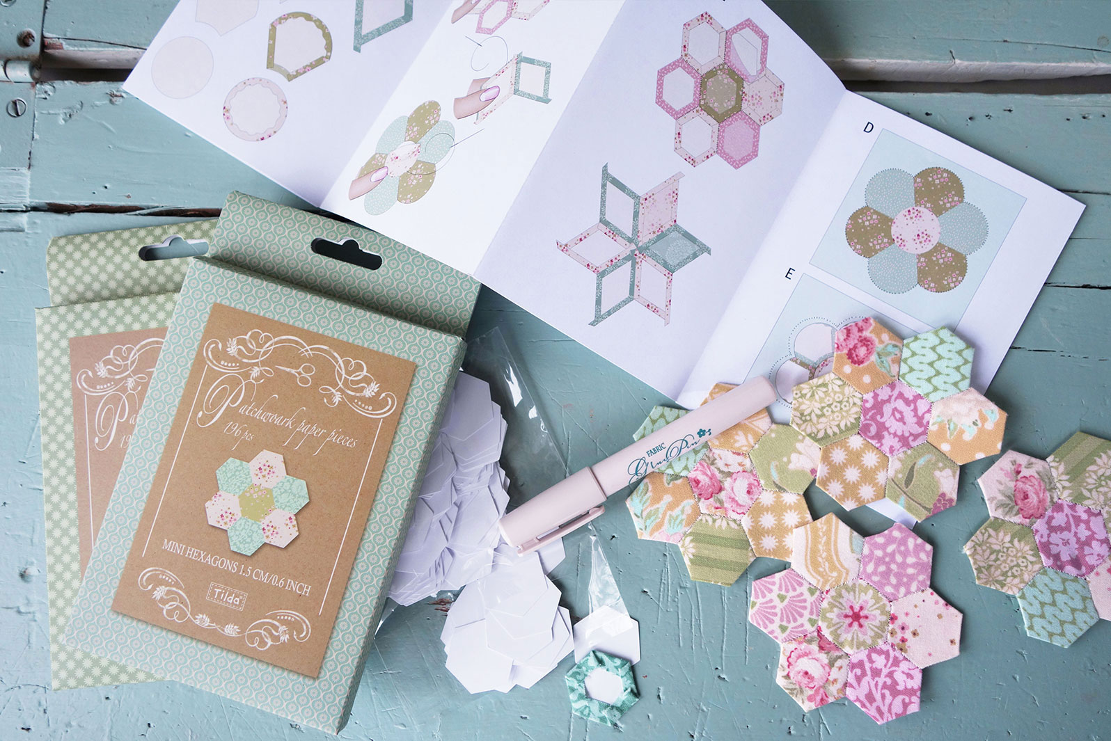 Paper pieces & Applique
