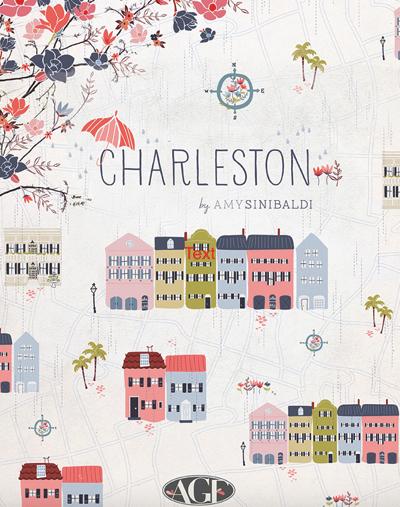 Charleston Fat Eighth Bundle