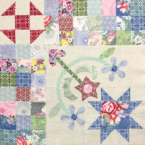 Paper Garden Block 1