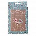 Folk Art Flower Paper piece applique set 1