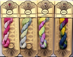 Flowerville thread set