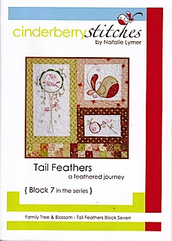 Tail Feathers Block Seven