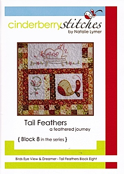 Tail Feathers Block Eight