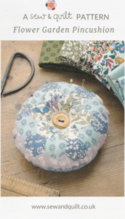 Flower Garden Pincushion