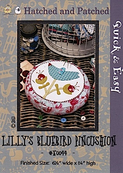 Lilly's Bluebird Pincushion