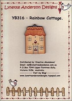 Rainbow Cottage button