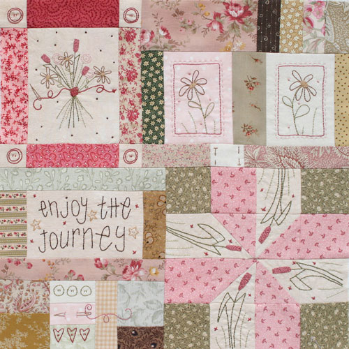 Journey of a Quilter Block 1