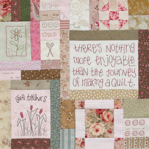 Journey of a Quilter Block 2