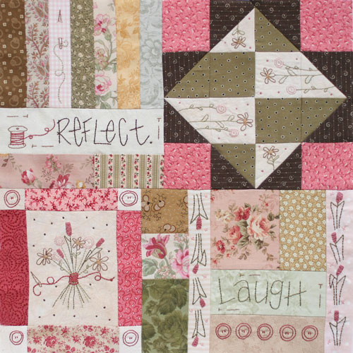Journey of a Quilter Block 7