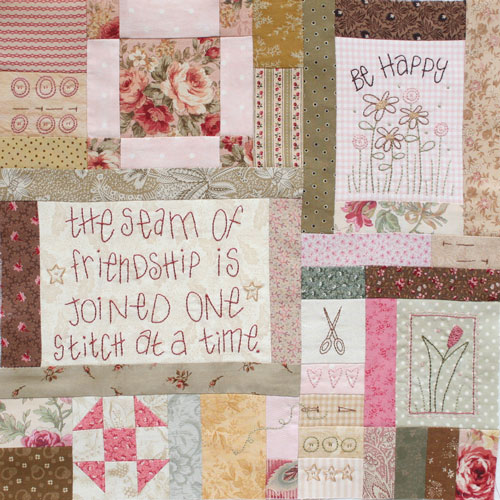 Journey of a Quilter Block 8