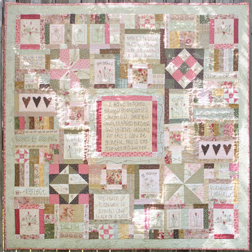 Journey of a Quilter Block 10