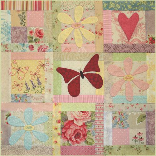 Butterfly Garden Block 3