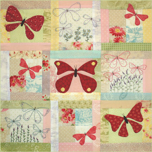 Butterfly Garden Block 5