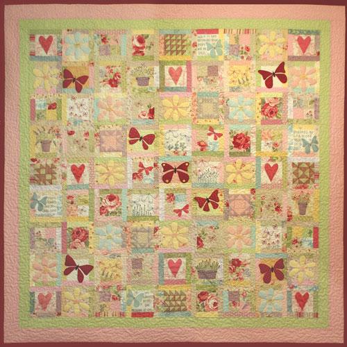 Butterfly Garden pattern set