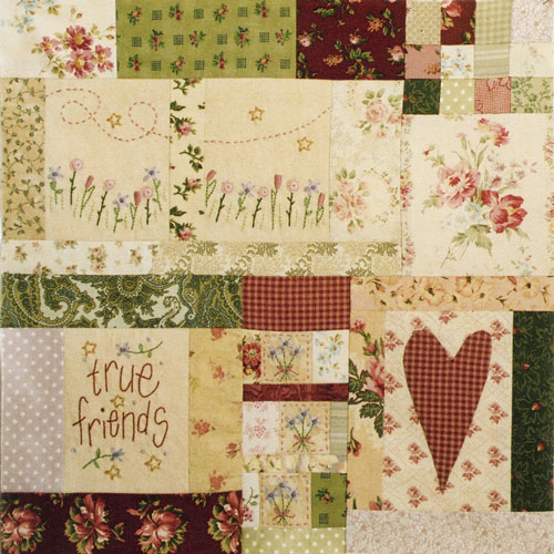Leanne's House BOM Quilt - Block Nine
