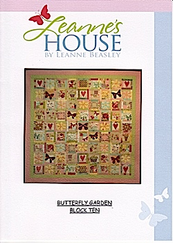 Butterfly Garden Pattern set