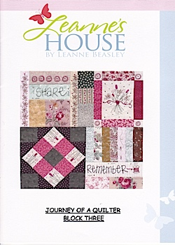 Journey of a Quilter Block 3