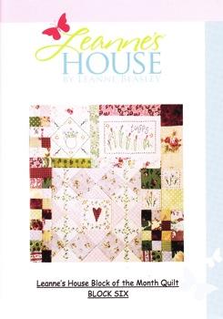 Leanne's House BOM Quilt - Block Six