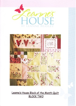 Leanne's House BOM Quilt - Block Two