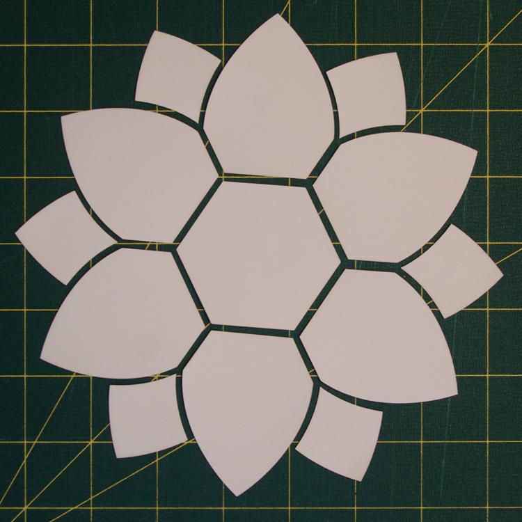 Tenderness Flower Paper Pieces