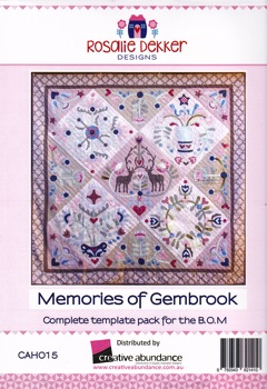 Memories of Gembrook - template set