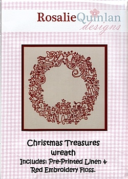 Christmas Treasures Wreath kit