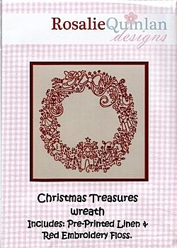 Christmas Treasures Wreath kit