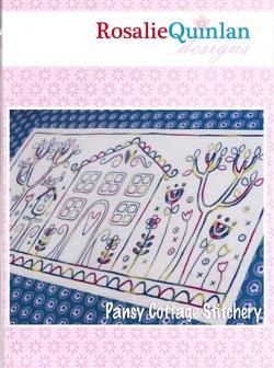 Pansy Cottage Stitchery