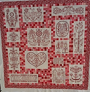 Scandinavian Rose BOM pattern set