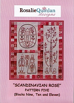 Scandanavian Rose Pattern Five