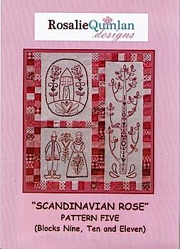 Scandanavian Rose Pattern Five