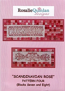 Scandanavian Rose Pattern Four