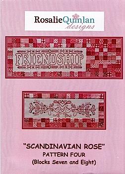 Scandinavian Rose Pattern Four
