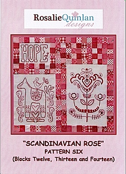 Scandanavian Rose Pattern Six