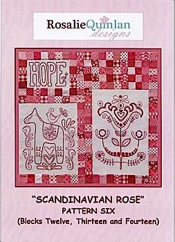 Scandanavian Rose Pattern Six