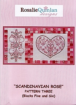Scandinavian Rose Pattern Three