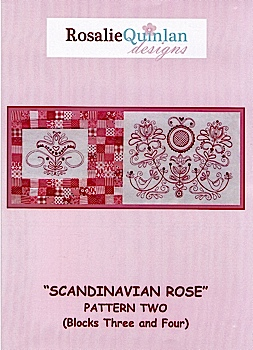 Scandanavian Rose Pattern Two