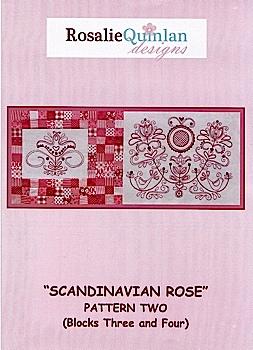 Scandinavian Rose Pattern Two