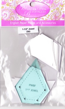 "Jewel 1-1/2"" papers and template"