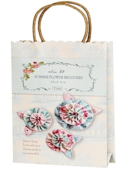 Summer Flower Brooches Kit