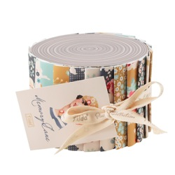 Memory Lane fabric roll