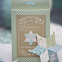 Mini Diamond patchwork paper pieces